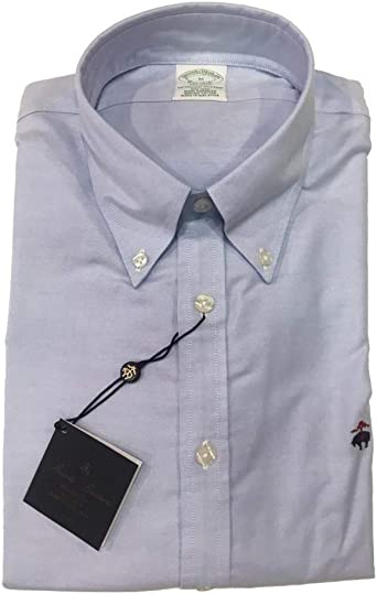 BROOKS BROTHERS Camisa Milano Oxford Celeste Azul Claro XXL: Amazon.es: Ropa y accesorios