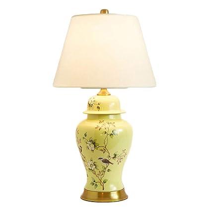 Amazon.com: Table Lamp Desk Lamp,Ceramic Table Lamp Living Room ...