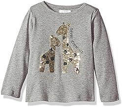 Baby Girls Sequin Long Sleeve T-Shirt