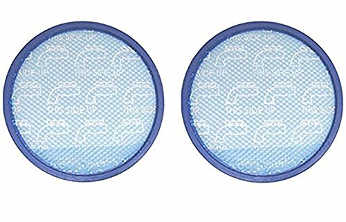(Green Label 2 Pack for Hoover Primary Blue Sponge Filter for WindTunnel, Elite Rewind and Elite Whole House Bagless Upright Vacuums (compares to 304087001). Washable)