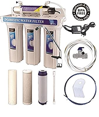 200 - 240V Ultraviolet UV Light Drinking Water Filter System Under Sink Purifier