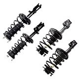 Spring Strut Assembly - OCPTY Complete Struts Shocks Fits 2004-2006 Lexus ES330 - 2004-2006 Toyota Camry - 2004-2006 Toyota Solara 172205 172206 172208 172207 Replace Strut