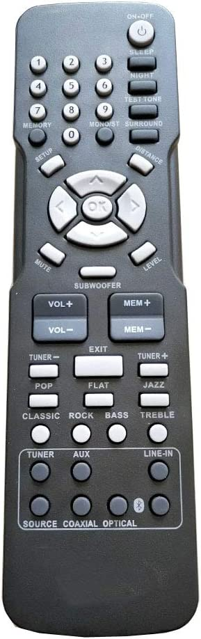 PROROK New Remote Control fit for RCA Home Theater System RT2781BE RCR192AB2 RT2781 RT2781H WX14453