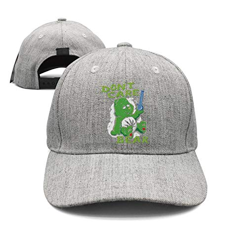 - LuTao Don't Care Bear Marijuana Smoking Weed 420 Unisex Baseball Cap Adjustable Snapback hat Sport Cap