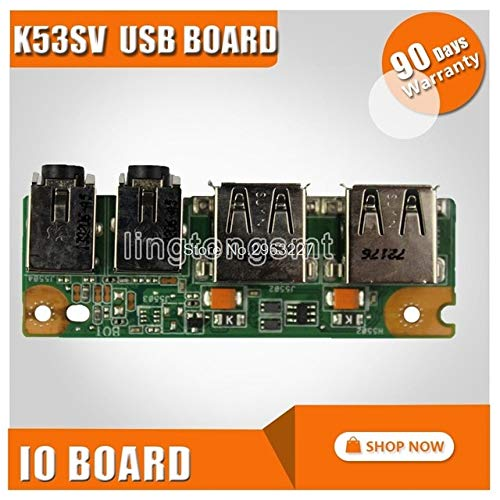 Computer Cables & Connectors For Asus K53 K53sv A53s X53s K53s P53s P53sj K53e X53e A53e Io Usb Audio Jack Power Switch On Off Button Board Nwe!!