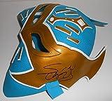 Sin Cara Signed Mask w/COA Wrestling Heavyweight Championship WWE
