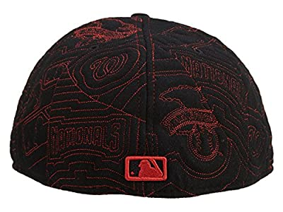 New Era Washington Nationals Fitted Hat Mens