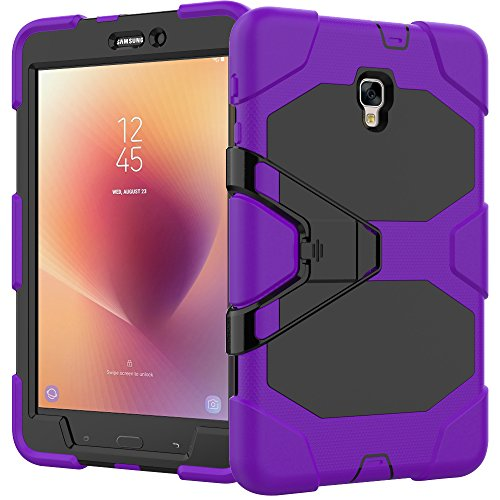 Click to buy Galaxy Tab A 8.0 2017 Case, Fisel Shockproof Kickstand Design Tough Rugged Armor Defensive Full Body Protective Case with Built in Screen Protector for Samsung Galaxy Tab A 8.0 SM-T385/T380 2017 - From only $13.49
