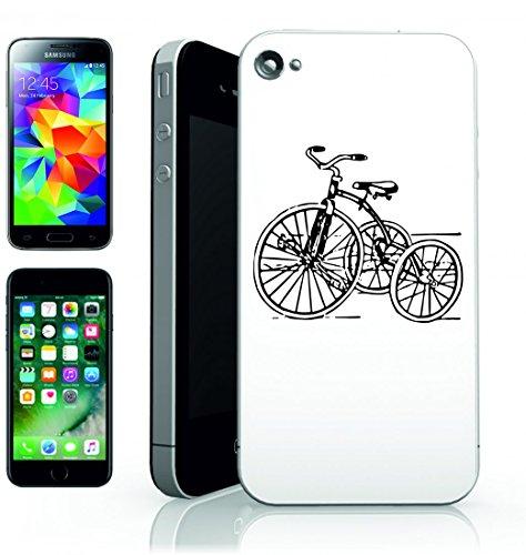 Smartphone Case Tre ruota d annata retro del giocattolo di Infanzia di ciclo della nostalgia giro Trike Antico per Apple Iphone 4/4S, 5/5S, 5C, 6/6S, 7& Samsung Galaxy S4, S5, S6, S6Edge, S7, S7