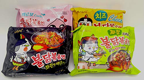 Which is the best spicy noodles challenge kit?