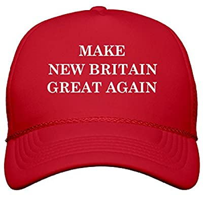 Make New Britain Great Again: OTTO Solid Color Snapback Trucker Hat
