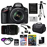 Nikon D3200 24.2 MP CMOS Digital SLR Camera with 18-55mm f/3.5-5.6G AF-S DX V...