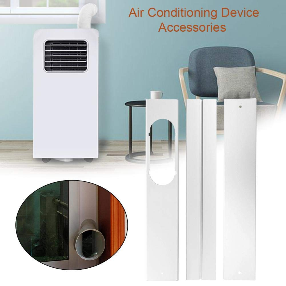 Window Adaptor for Adjustable Window Seal Slide with Exhaust Hose Portable Air Conditioner Mobile Air Conditioning
