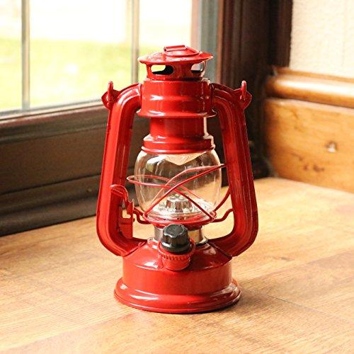 Decorative Rouge Lanterne Led Lampe Vintage Tempête zMpULqGSV