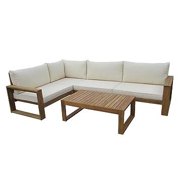 Amazonde Outliv Loungemöbel Holz Santa Cruz Loungemöbel Outdoor 5