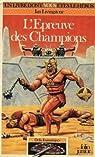 L'épreuve des champions par Livingstone