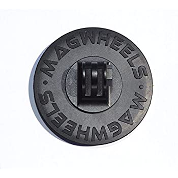 MagWheels Magnetic Camera Mount w/ Non-Slip Anti-Scratch Rubber Coating for ALL GoPro Cameras