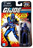 G.I. Joe 25th Anniversary: Hooded Cobra Commander (Cobra Leader) 3.75 Inch Action Figure
