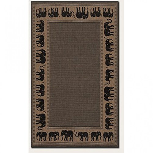 Couristan Recife Elephant 3 Feet 9 Inch product image