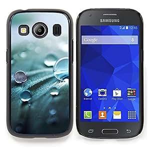 Stuss Case / Funda Carcasa protectora - Gota Naturaleza Primavera fresca Perla - Samsung Galaxy Ace Style LTE/ G357