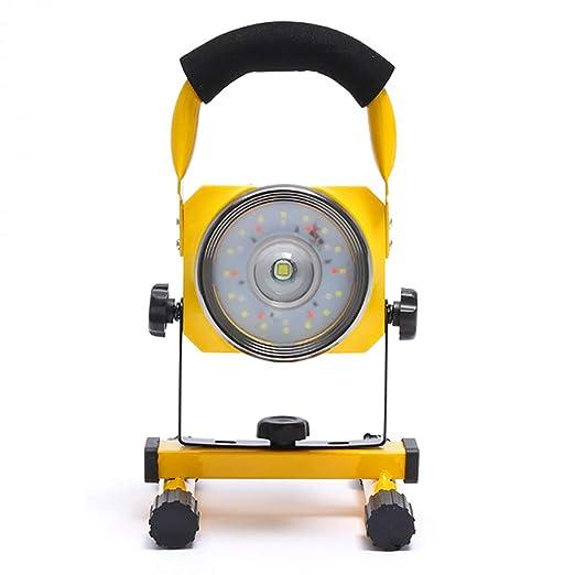 Proyector LED de 30W 2400LM, Luz de Inundación Portátil ...