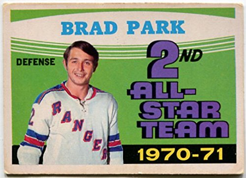 1971/72 OPC Brad Park All-Star Card #257 New York Rangers
