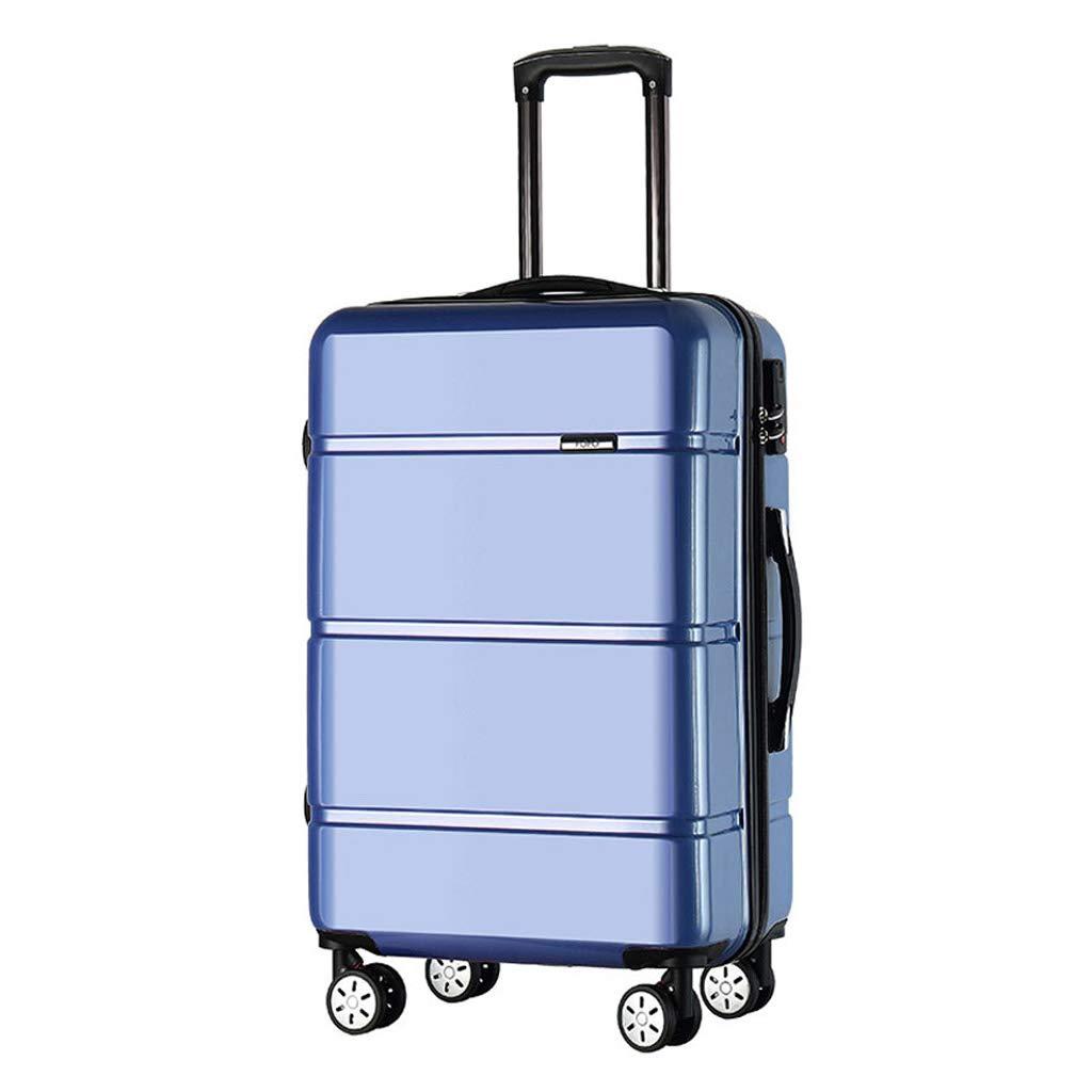 スーツケース超軽量ABSハードシェル旅行は4つのホイール、航空&詳細情報のために承認されたハードシェルトロリーサイズのアドオンキャビンハンド荷物スーツケースキャリー B07NZ55ZD6  67L
