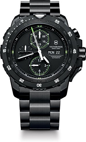 Victorinox Swiss Army Alpnach Mechanical 241572 Automatic Mens Chronograph 3 Years Manufacturer's Guarantee