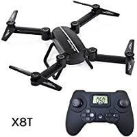 RC Quadcopter Drone X8T Aircraft Altitude Hold Mini Headless Four-axis Helicopters Airplane Model Built-in USB Battery (without Camera)