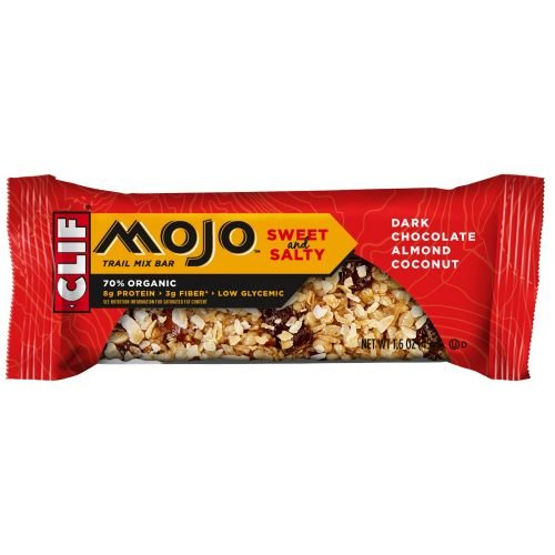 Mojo Dark Chocolate Almond Coconut Trail Mix Bar, 1.6 Ounce -- 144 per case. by Clif Bar