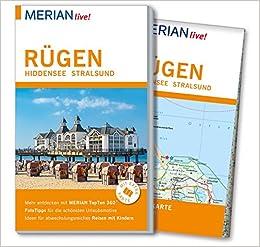 Stralsund Karte.Merian Live Reiseführer Rügen Hiddensee Stralsund Mit Extra Karte