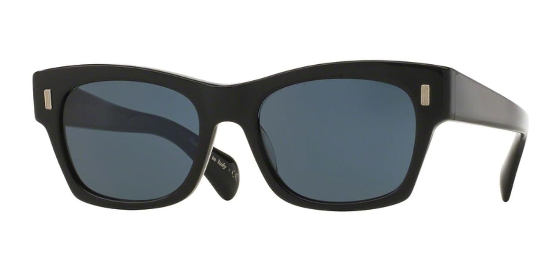 85d09734f45 Amazon.com  New Oliver Peoples OV 5330 SU 71st Street 1005R5 BLACK  Sunglasses  Clothing