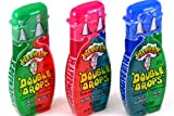 Cheap Warheads Super Sour Double Drops Liquid Candy 1.01 Fluid Ounce Bottles (Pack of 12)