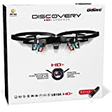 "RC Quadcopter Drones with Camera – ""Force1 U818A Discovery"" Camera Drone Kit with 720p RC Quadcopter Drone Camera + Micro SD Card and Bonus Battery"