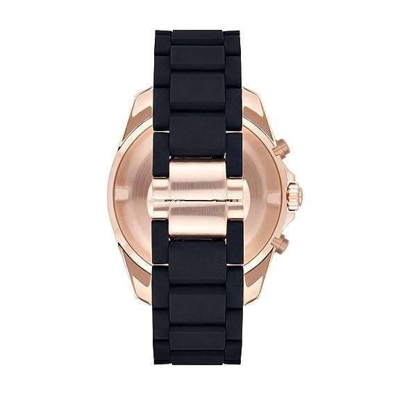 Emporio Armani Reloj analogico para Hombre de Cuarzo con Correa en Caucho AR6066: Emporio Armani: Amazon.es: Relojes
