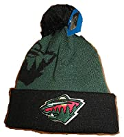 Minnesota Wild Kids Winter Stocking Hat