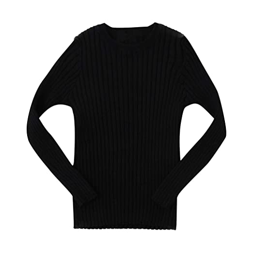4d95fb9113a0 Pollyhb Baby Girl Boy Sweater, Kids Boys Girls Ribbed Knit Sweater  Children's Sweater (2