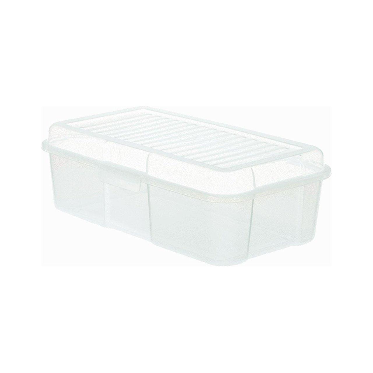 Rubbermaid Home 228100-CLR Snap Case Storage Tote Rubbermaid Brute 2281-00-CLR RUBFG22810FCLR