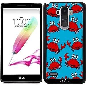 Funda para LG G4 Stylus - Feliz Cangrejo Rojo by zorg