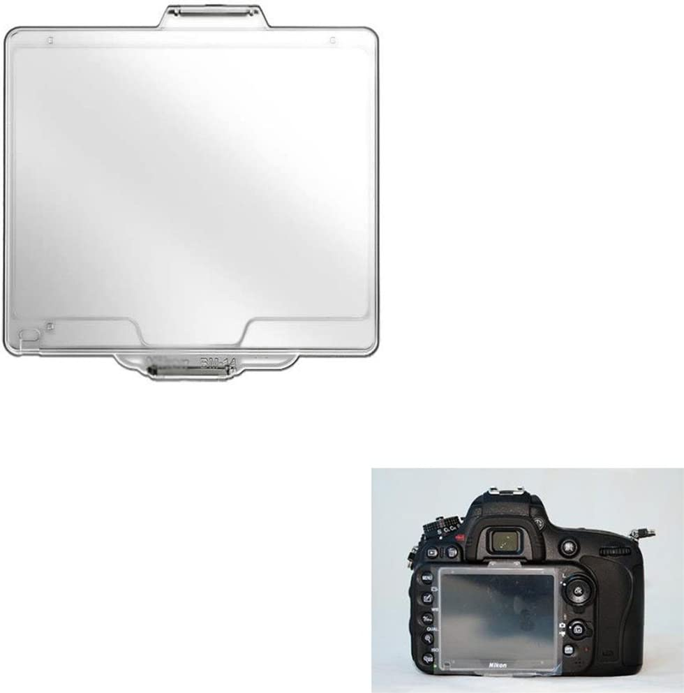 BM-14 Hard Plastic LCD Monitor Cover Screen Protector for Nikon D600//D610