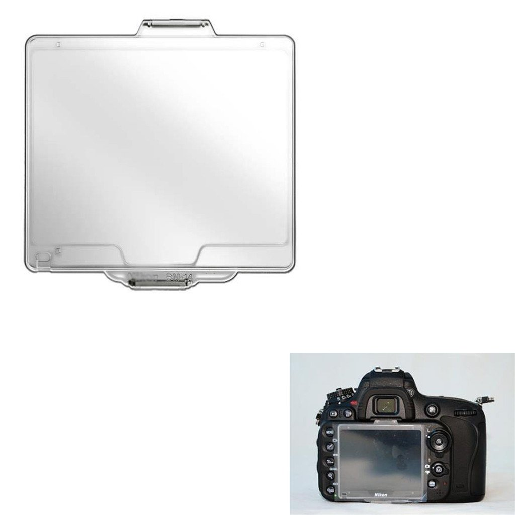 Homyl Clear BM-14 Hard Plastic LCD Monitor Cover Screen Protector for Nikon D600//D610 SLR Camera