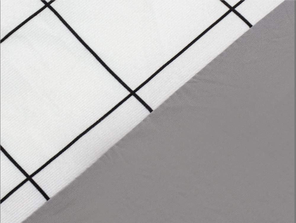 65CM Copertura Testiera Letto Matrimoniale Elastico All-inclusive Coperchio Della Testata Letto Morbido Copertura Antipolvere,Color16-180