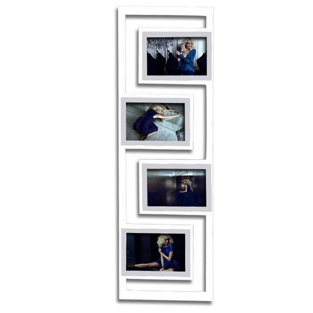 Amazon.de: WOLTU #BR9378 Bilderrahmen, Holz Rahmen, für 4 Bilder ...