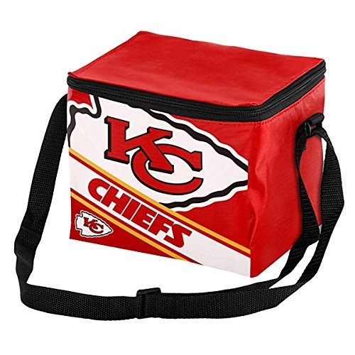FOCO Kansas City Chiefs Big Logo Stripe 12 Pack (Kansas City Chiefs Lunch Box)