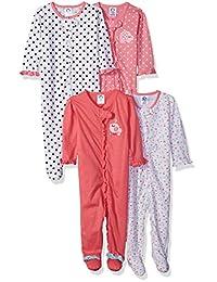 Gerber baby-girls Baby 4 Pack Variety Sleep 'N Play