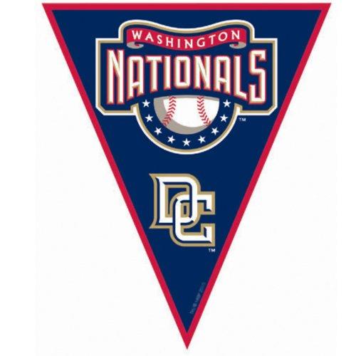 [Washington Nationals Baseball - Pennant Banner Party Accessory] (Baseball Costume Accessories)