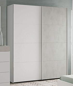PEGANE - Armario con 2 Puertas (200 x 150 x 60 cm), diseño de ...