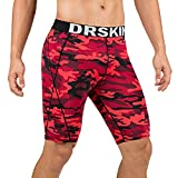 DRSKIN Men's 1 or 3 Pack Compression Shorts Sports
