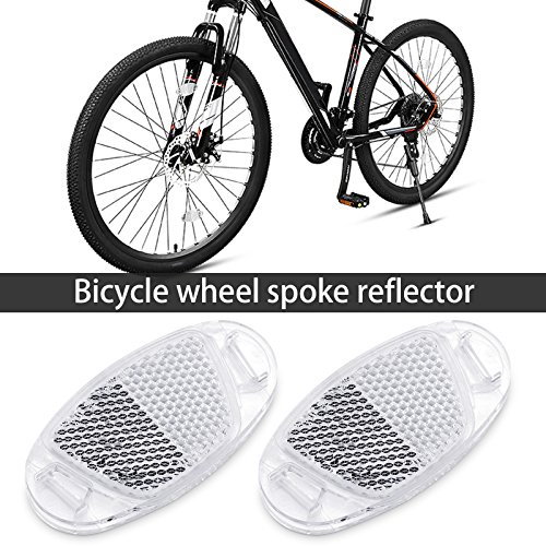 4pcs//set bicycle pedal reflector safety night cycling reflective bike TO