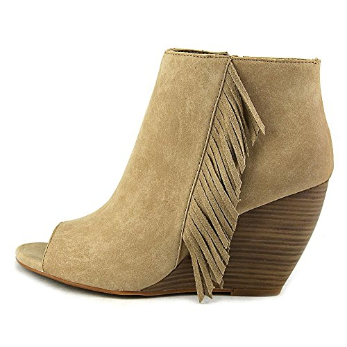 High Pump Taupe Leather Unbridled Women's Jaycee Ankle Ariat wWOTXq4aW